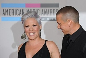 Pink and Carey