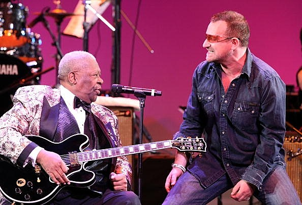 Bono and BB King