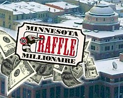 Minnesota State Lottery Raffle Ticket