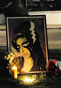 Amy Winehouse Vigil