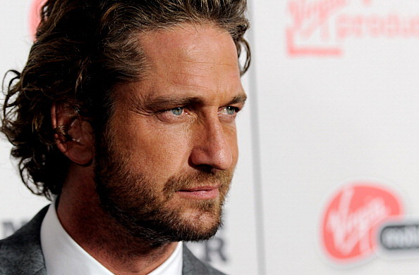"Gerard Butler at the Premiere of ""Machine Gun Preacher"""