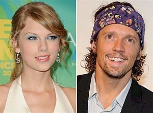 Taylor Swift and Jason Mraz