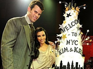Kris Humphries and Soon to be Ex-Wife Kim Kardashian