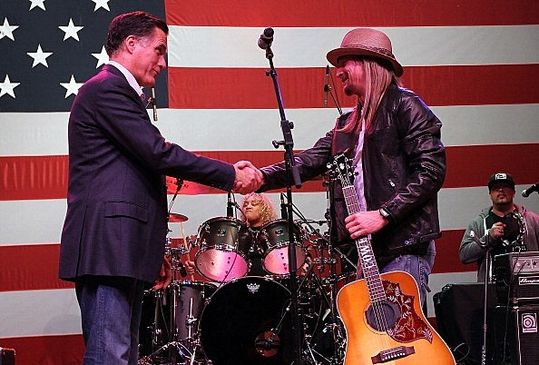 Kid Rock and Romney