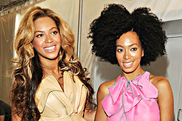 Beyonce & Solange Knowles