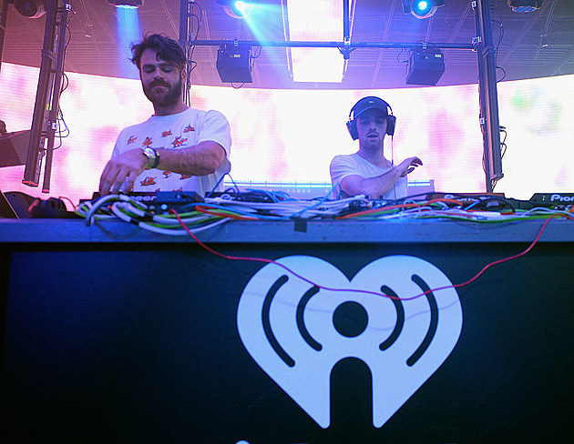 """iHeartMedia celebrates CES 2017 with a private """"iHeartRadio Live"""" party featuring a performance by The Chainsmokers."""