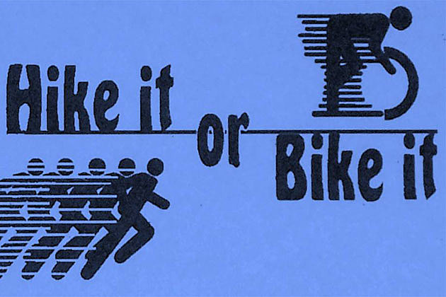 Mama Marla's Hike It or Bike It - Courtesy of their Facebook Page and Marla Schnell