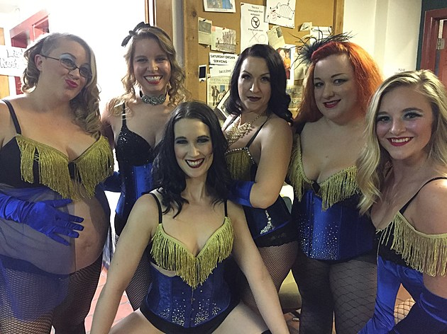 My Lovely Revolver Studios Burlesque 101 class from the last student showcase!